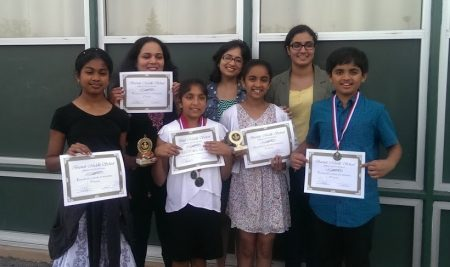 Burnett Middle Speech and Debate  Tournament Winners May-2014