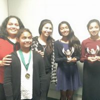 Harker Invitational  Middle Speech and Debate Team and Winners Dec 5th and 6th 2015